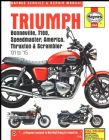 Triumph Bonneville Haynes Manual (2001 - 15)
